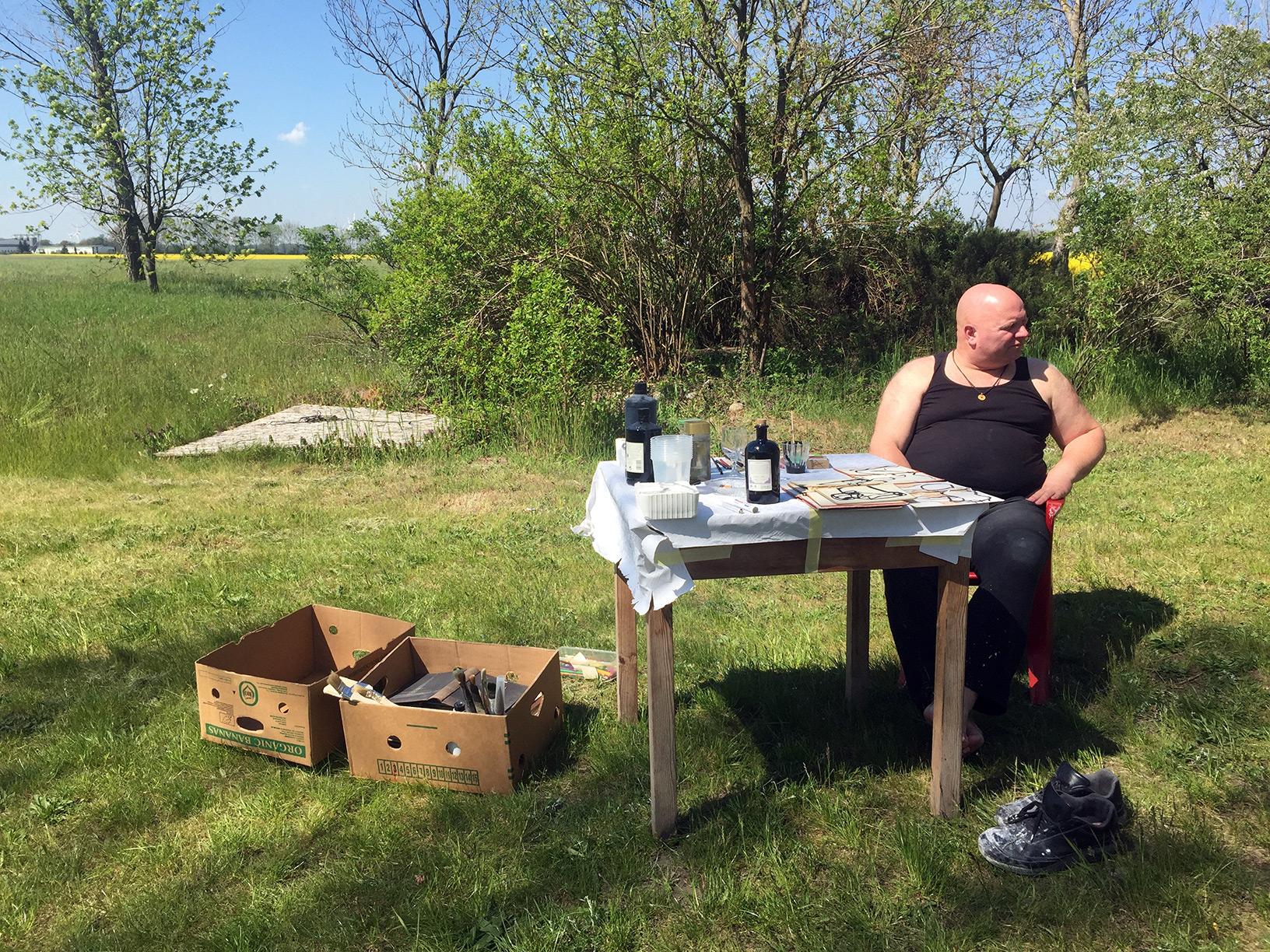 Kunst-Loose-Tage 2016 Julian van Grey Marc de Bourg 7./8. Mai 2016 - Greysland