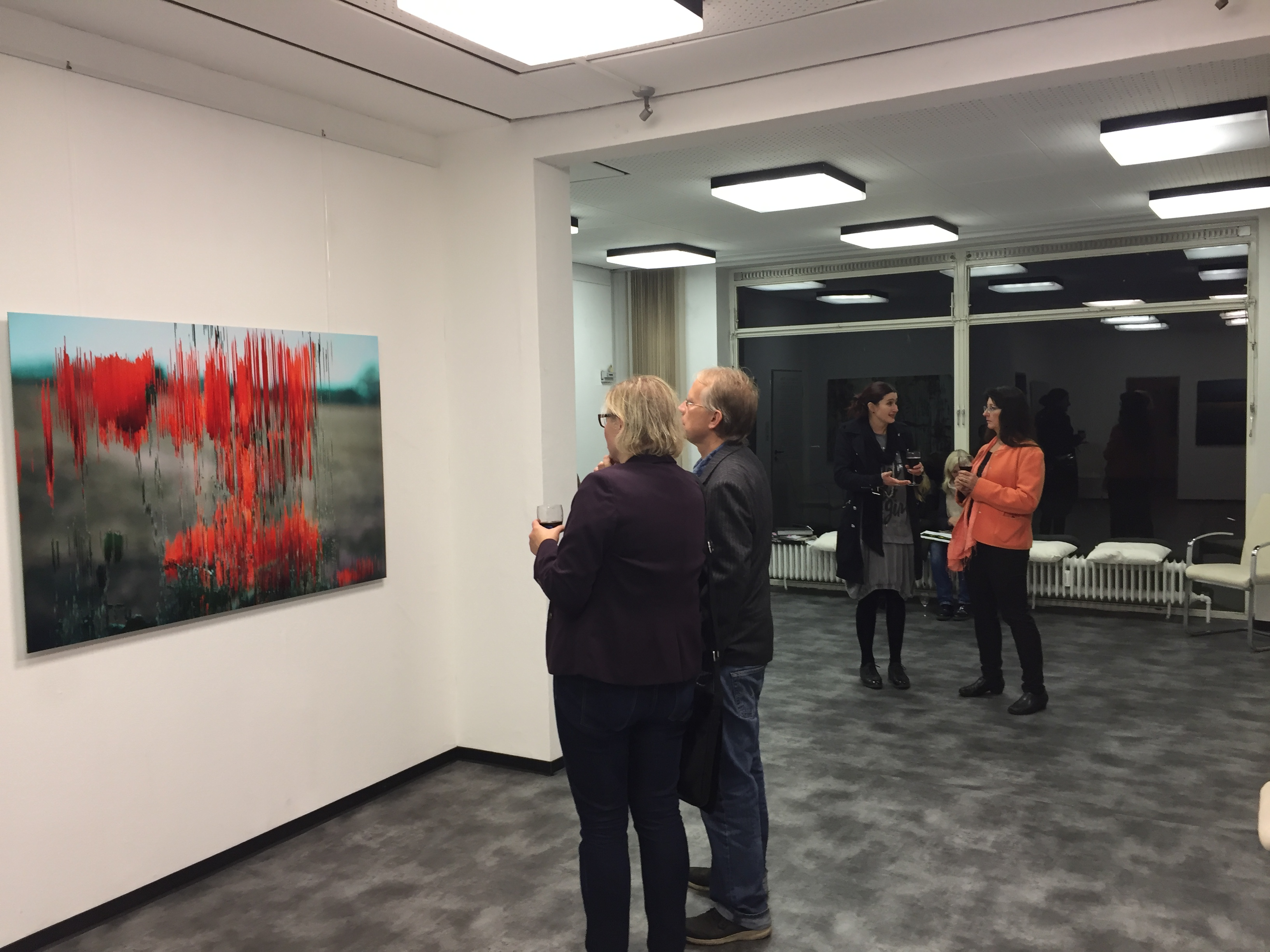 "Exhibition ""Die Dekonstruktion der Blume"" (2017)"